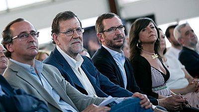 """Rajoy: """"Tenemos labor por delante, que ETA deje de existir"""""""