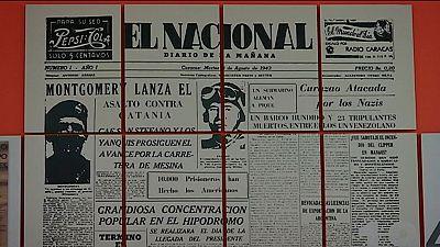 La historia de la prensa venezolana empieza a escribir páginas en negro