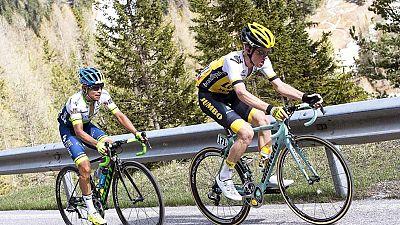 Ciclismo - Giro de Italia, 14ª Alpago (Farra) - Corvara  (2ª parte) - ver ahora