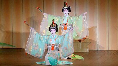 Segunda y última representación de Teatro Kabuki en España