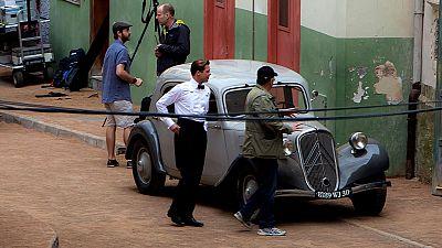 Brad Pitt sigue en Las palmas de Gran Canaria