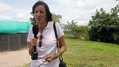 La periodista española Salud Hernández-Mora, desaparecida en Colombia