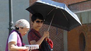 Lluvias en el cuadrante noroeste  y subida de temperaturas en gran parte del país