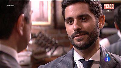 Acacias 38 - Leandro rechaza la invitaci�n de V�ctor a su cumplea�os