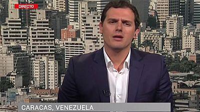 """Albert Rivera: """"La mayor�a de los venezolanos est�n hartos de esta situaci�n econ�mica y pol�tica"""""""