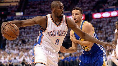 Los Thunder ponen a los Warriors contra las cuerdas