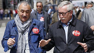 Los sindicatos defienden el derecho a una renta mínima