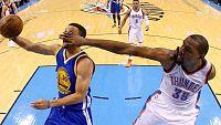 Los Thunder est�n a un partido de eliminar a los Warriors