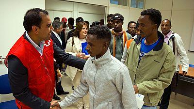 Llegan a España 22 refugiados eritreos procedentes de Italia