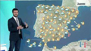 Temperaturas en ascenso en el centro peninsular