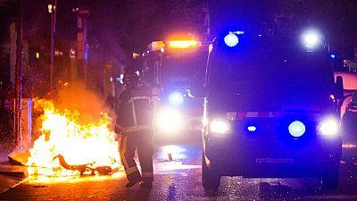 Once heridos en la tercera noche de enfrentamientos en el barrio de Grácia de Barcelona