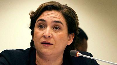 """Ada Colau pide """"prudencia"""" a los Mossos en su actuación en los disturbios del barrio de Gràcia"""