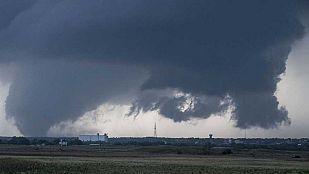 Chubascos y tormentas en el extremo norte peninsular