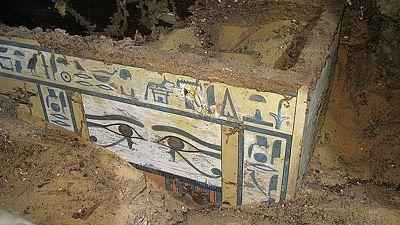 Arqueólogos españoles rescatan una momia egipcia en Asuán