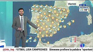 Viento fuerte en el litoral sudeste y chubascos en Galicia y Asturias