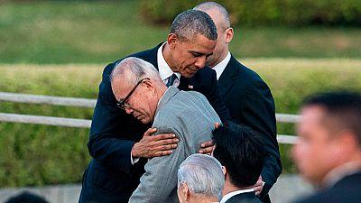 Obama recuerda a las víctimas de Hiroshima en una visita histórica