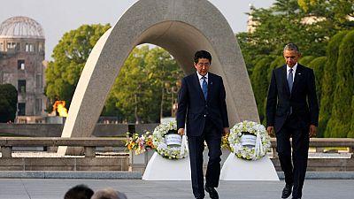 Obama rinde homenaje a las víctimas de Hiroshima