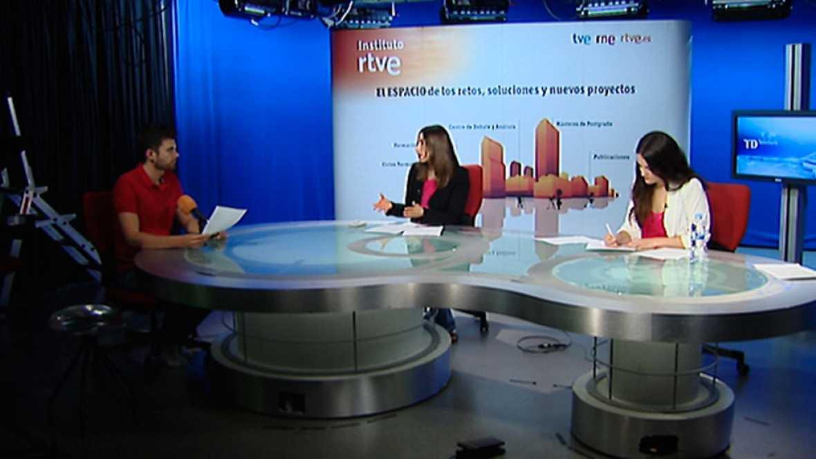 Termina el máster de periodismo en televisión de RTVE y la universidad Rey Juan Carlos