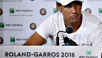 Nadal se retira de Roland Garros, por problemas en una muñeca