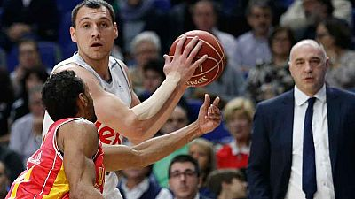 Real Madrid 107-103 UCAM Murcia