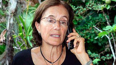 La periodista española Salud Hernández-Mora ha sido liberada