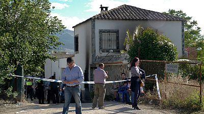 Cuatro miembros de una familia mueren en un incendio en Jaén