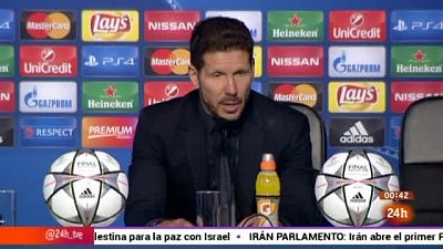 """Simeone deja en el aire su futuro: """"Perder dos finales es un fracaso"""""""