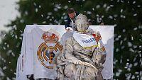 El Real Madrid celebra la Undécima con su afición en Cibeles