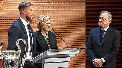 El Real Madrid llega al Ayuntamiento para ofrecer la Undécima