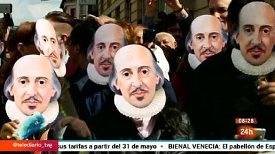 Shakespeare revive en su IV Centenario