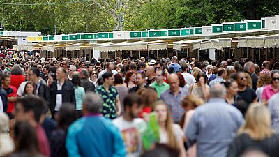 La Feria del Libro de Madrid  celebra su 75 edición en el parque El Retiro hasta el 12 de junio