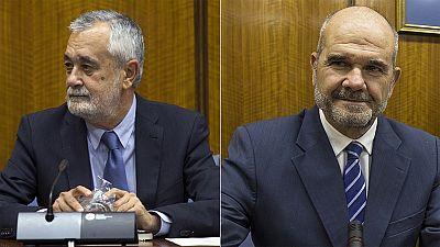 Chaves y Griñán niegan irregularidades pero admiten errores en la gestión de los cursos de formación