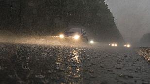 Lluvias fuertes en Cataluña y viento muy fuerte en desembocadura Ebro