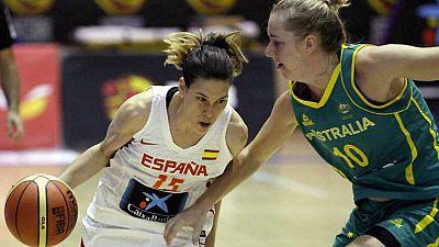 Baloncesto - Ruta Ñ femenina: España - Australia