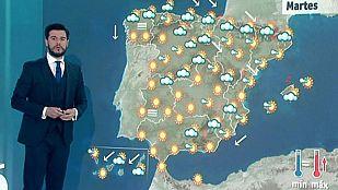 Lluvias fuertes en Cataluña y viento muy fuerte en la desembocadura del Ebro