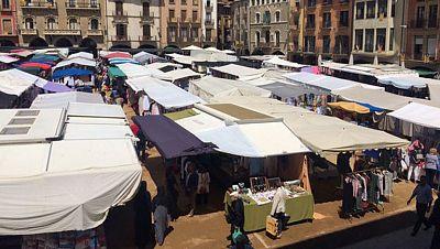 Un mercado del siglo IX