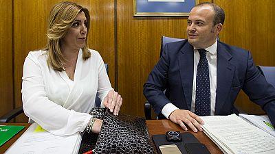 Susana Díaz confirma que la Junta ha reclamado 90 millones por el fraude de los cursos de formación