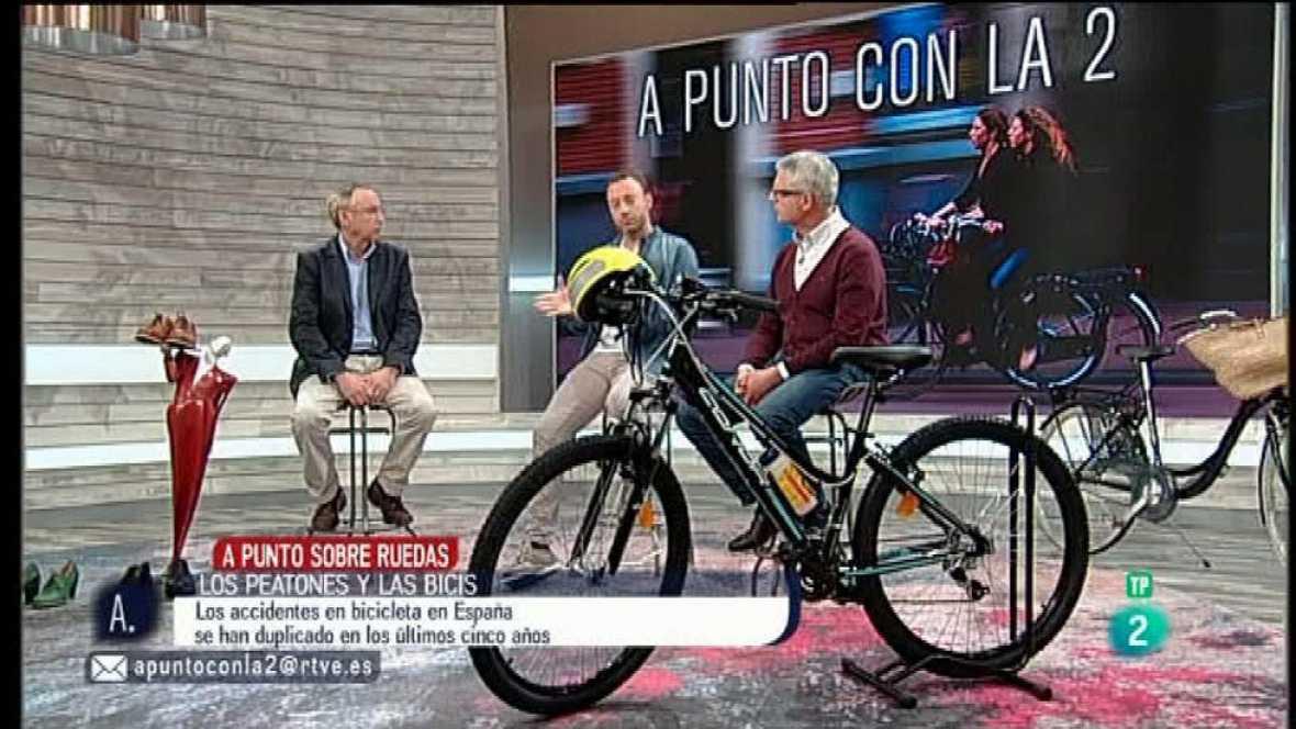 A punto con La 2 - Sobre ruedas - La convivencia entre ciclistas y peatones