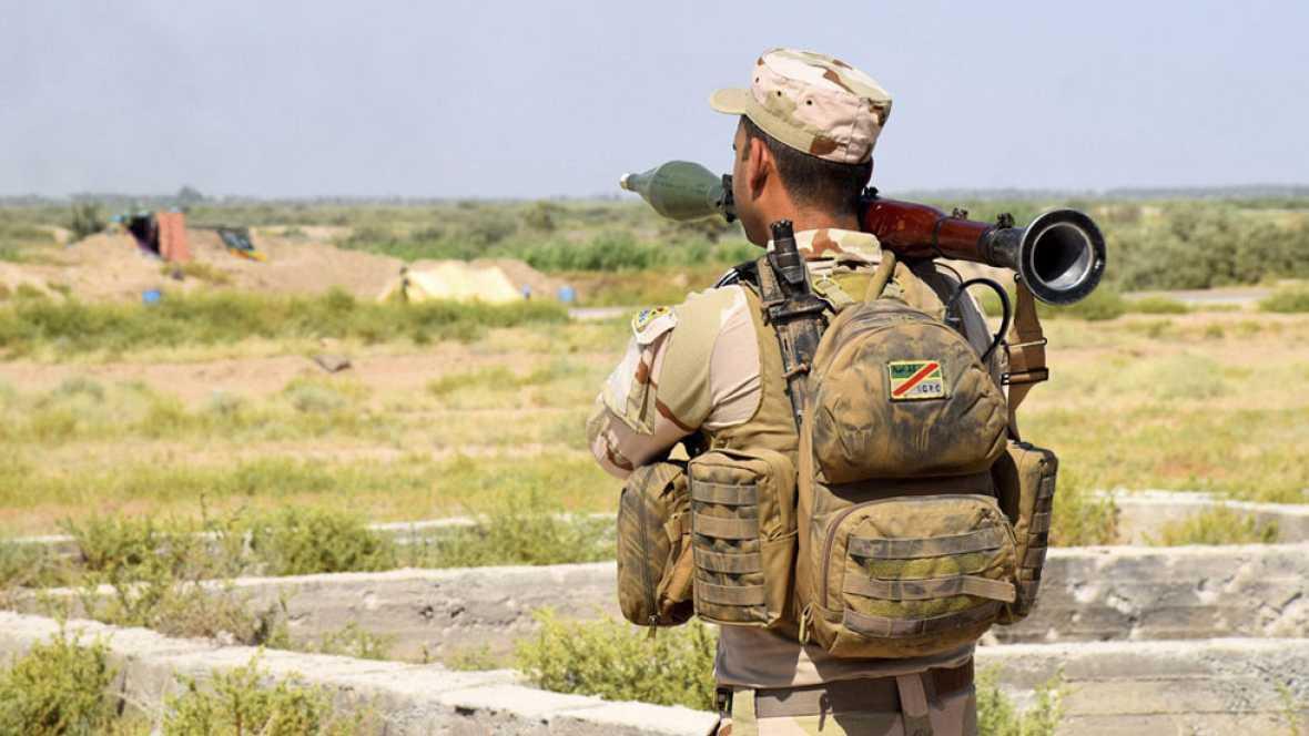El Ejército iraquí avanza en el cerco a la ciudad de Faluya