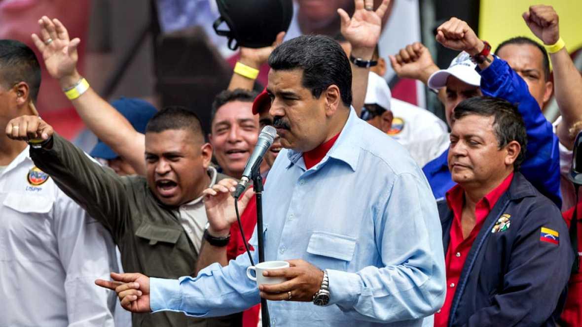 """Maduro carga contra el secretario de la OEA: """"Métete la carta en un tubito"""""""