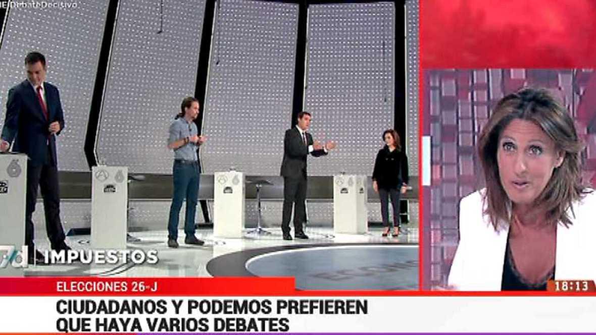 La tarde en 24 horas - La hora del debate en 24 h. - 01/06/16  - ver ahora