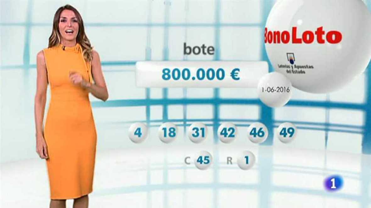 Bonoloto - 01/06/16 - ver ahora