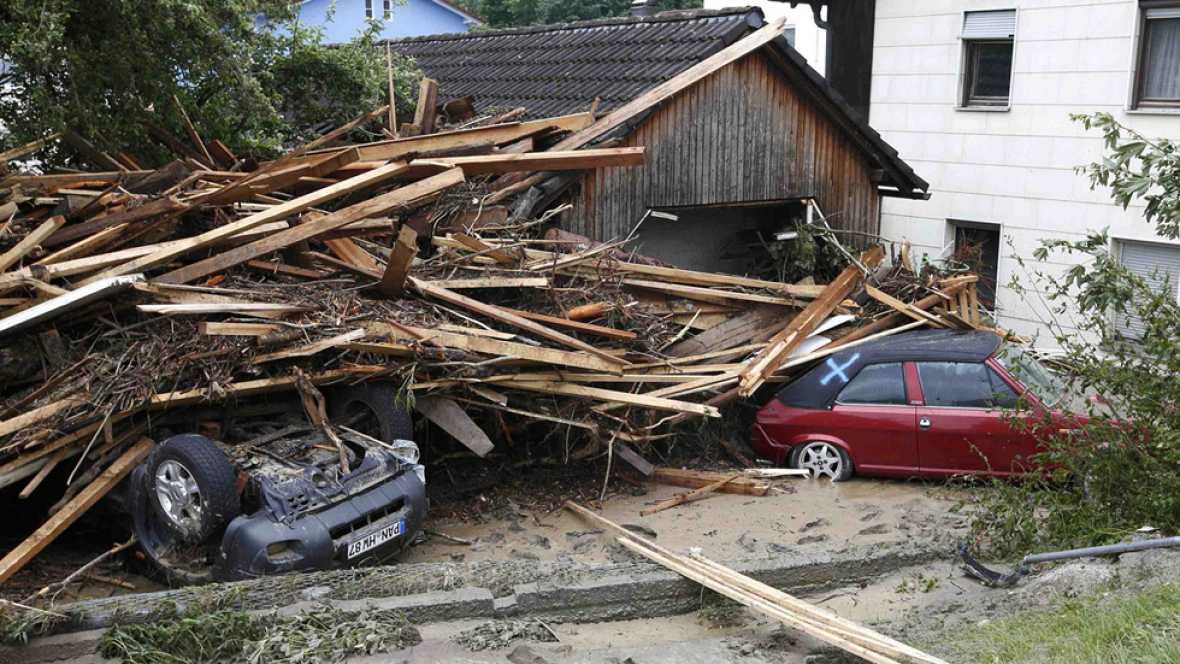 Inundaciones en Francia una mujer ha muerto y hay miles de hogares evacuados y sin electricidad