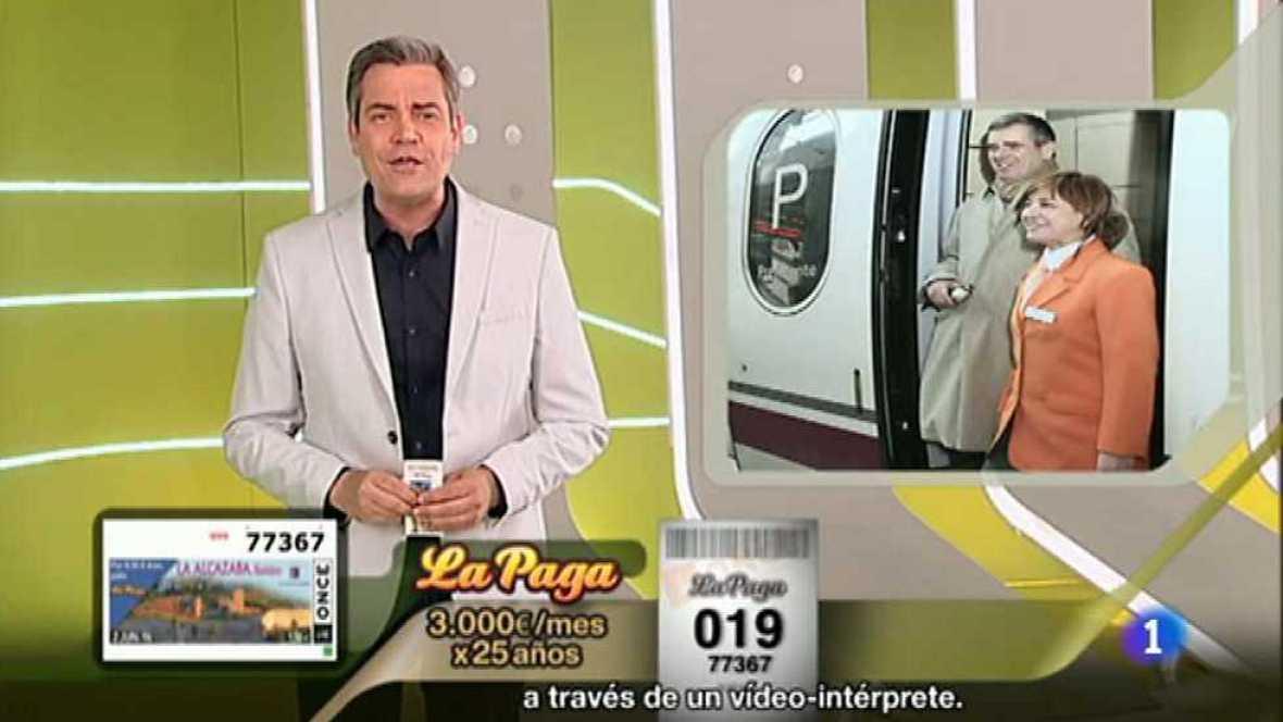 Sorteo ONCE - 02/06/16 - ver ahora