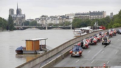 Las lluvias en Francia dejan un fallecido y obligan a tomar precauciones