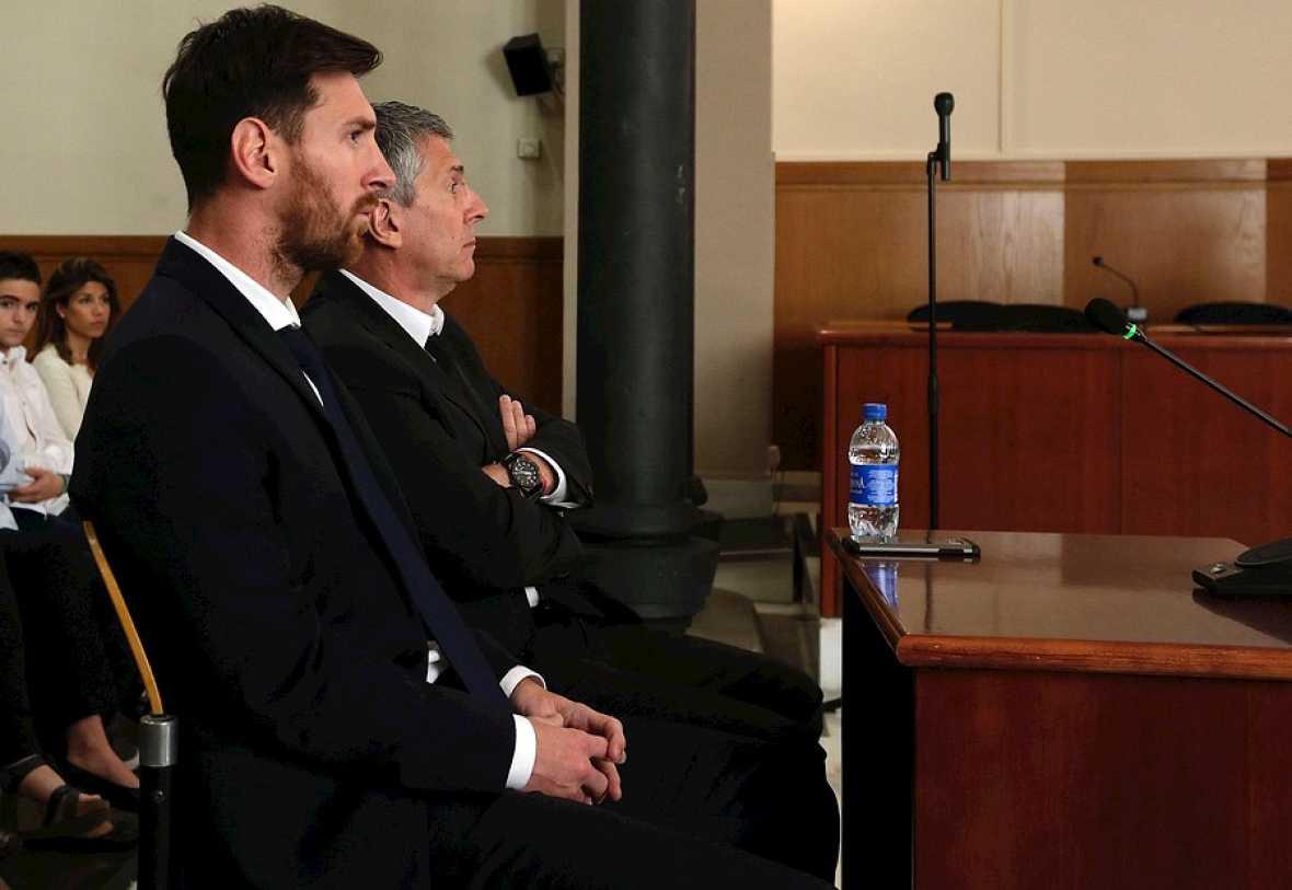 Messi declara por presunto fraude fiscal