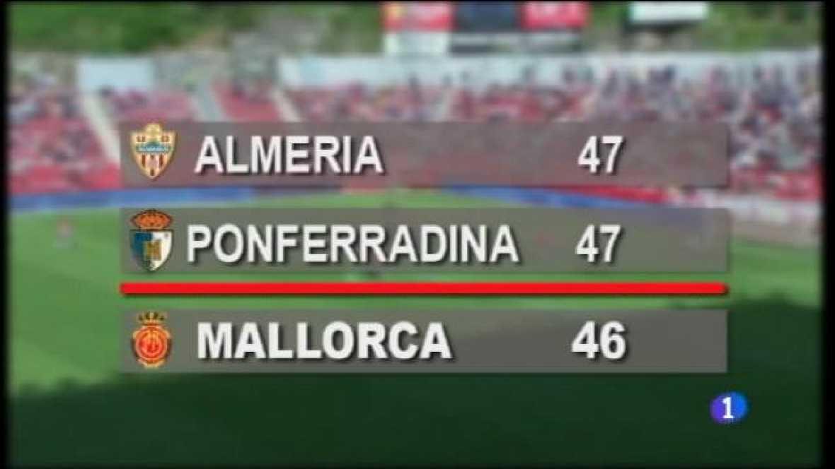 El Mallorca es juga el descens a Valladolid