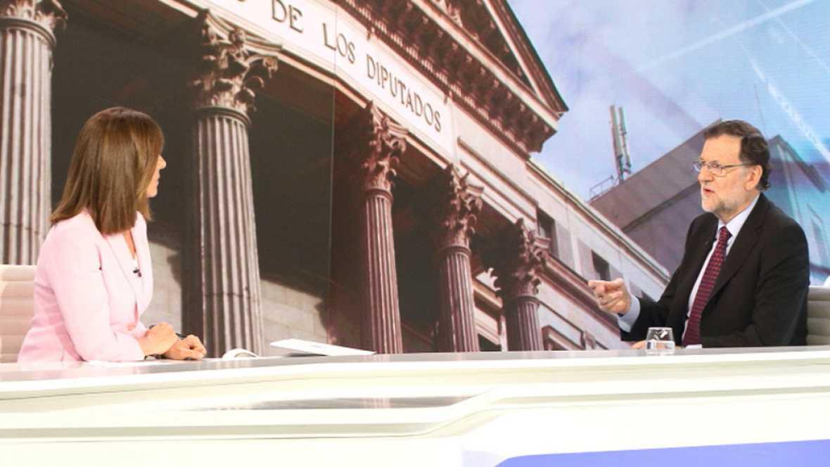 El presidente del Gobierno en funciones y candidato del PP a las elecciones del 26J, Mariano Rajoy, ha asegurado que está convencido de que ¿nadie será tan irresponsable de provocar unas terceras elecciones, porque sería una burla para todos¿, ante l