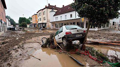 Las inundaciones también afectan al sur y el este de Alemania