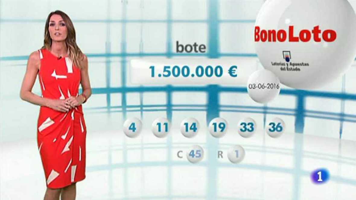 Bonoloto + EuroMillones - 03/06/16 - ver ahora